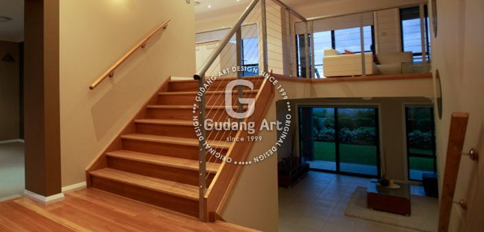 Split Level Home Mempermainkan Ketinggian Lantai