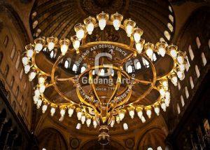 Gaya Arsitektur Hagia Sophia Turki - Istambul