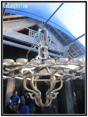 Pembuatan Replika Lampu Gantung Kuningan Hagia Sophia8