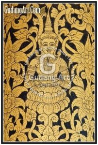 Konsep Thailand Style Ornamen Tembaga - Kuningan