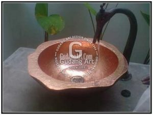 Kerajinan Tembaga Wastafel   Copper Sink Craftsman
