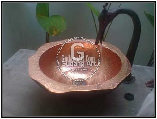 Kerajinan Tembaga Wastafel | Copper Sink Craftsman