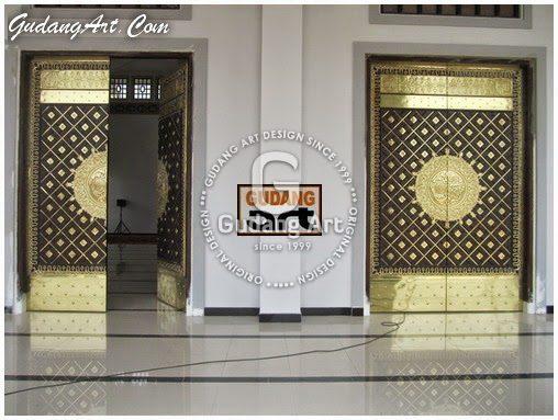 Pintu Masjid Nabawi - Madinah