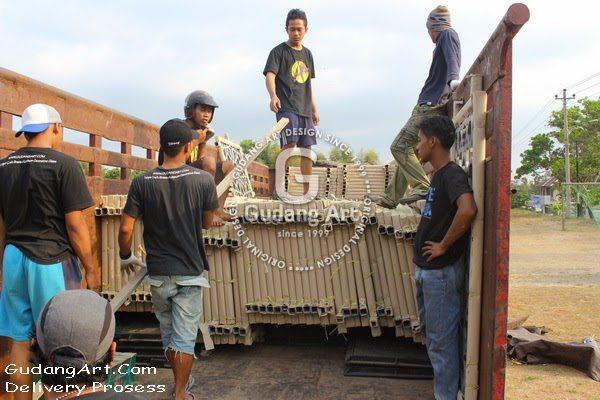 Shipping & Delivery Kerajinan Ornamen Pagar Masjid