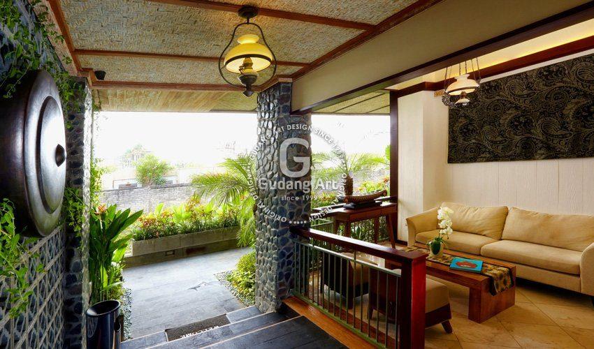 Sentuhan Seni Tembaga Dan Kuningan Villa Paditeras Bali