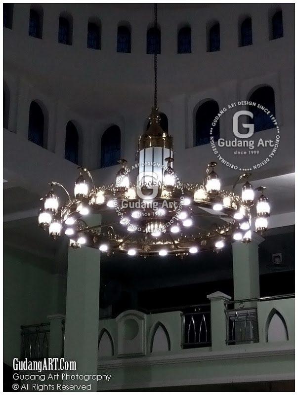 Custom Lampu Gantung Replika Masjid Nabawi