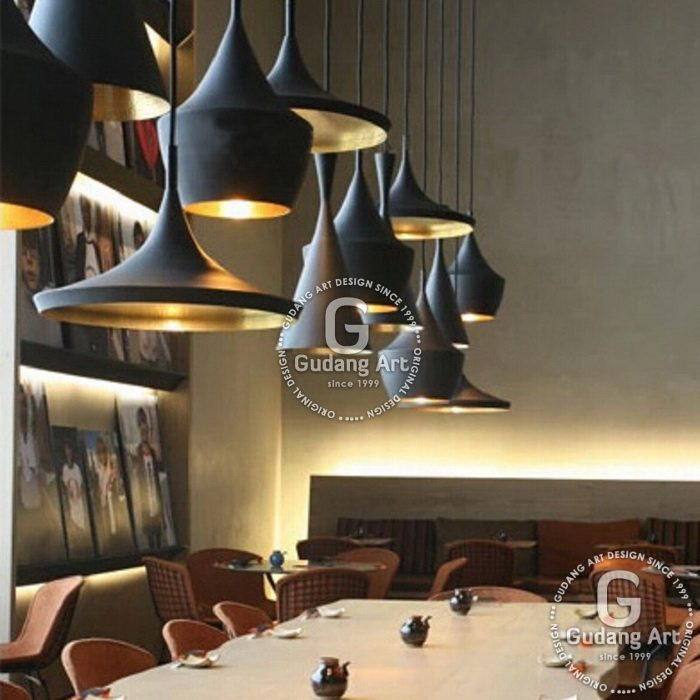 lampu gantung industrial minimalis