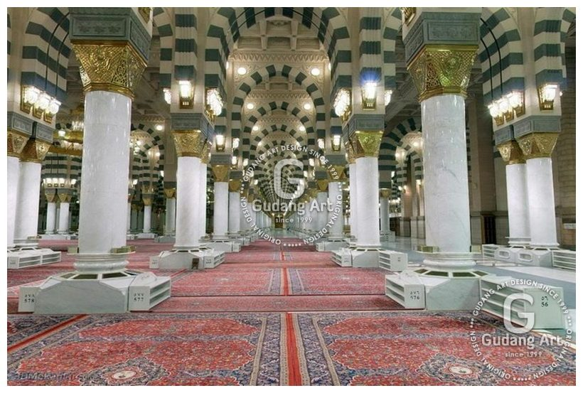Ornamen Tiang Masjid / Pilar Nabawi