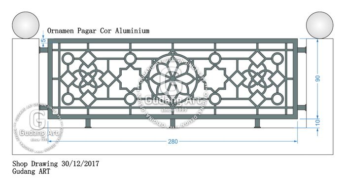 45+ Konsep Model Pagar Minimalis Untuk Masjid, Model Pagar Minimalis
