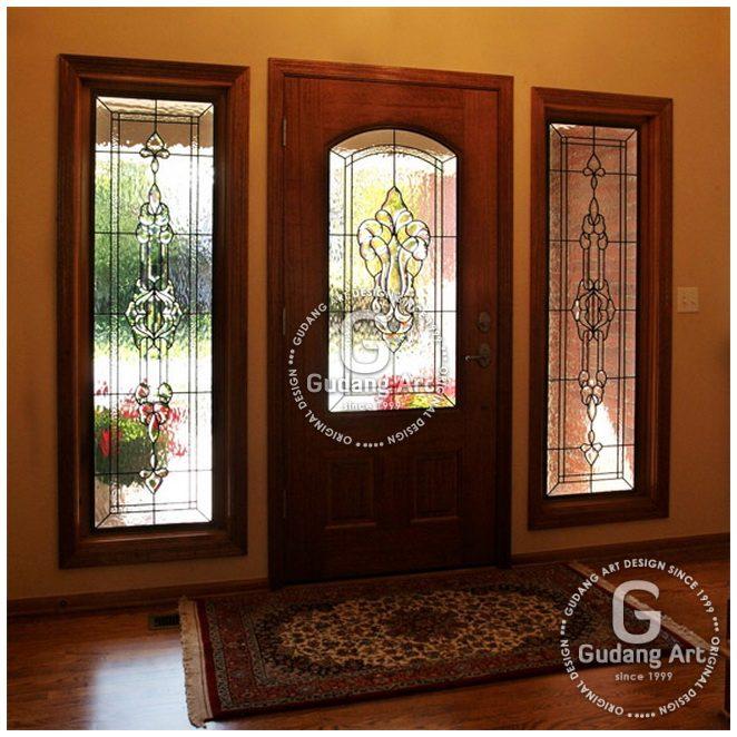 Kaca Patri Untuk Pintu Dekorasi Rumah Anda