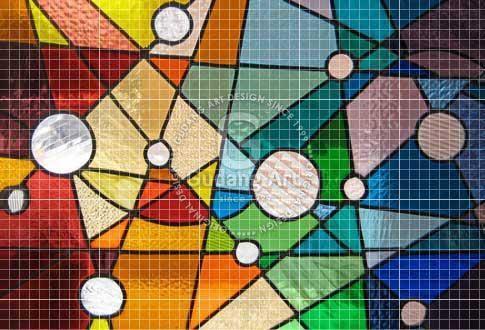Kerajinan Kaca Patri Warna Untuk Dekorasi Rumah Anda