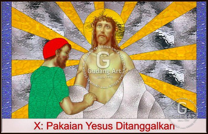 Mengenal Kaca Patri Gambar Yesus Pada Tempat Ibadah Gereja