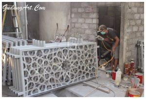 Pembuat Kerajinan Railing Masjid Aluminium Yang Berkualitas Dan Bagus