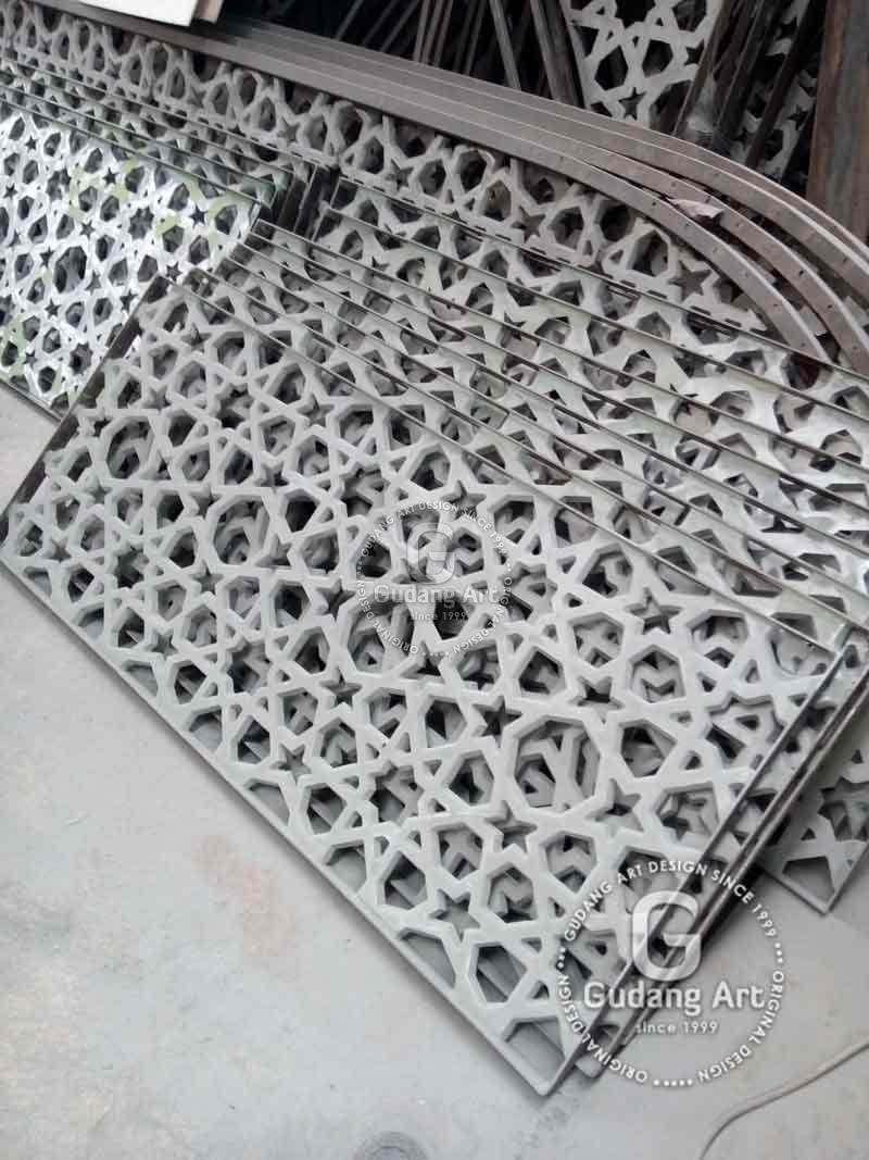 Pengrajin Tralis Cor Aluminium Ternama Dan Terkemuka