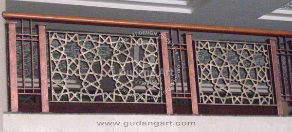 Keunggulan Pengaplikasian Railing Tangga Masjid Aluminium Dengan Desain Yang Keren