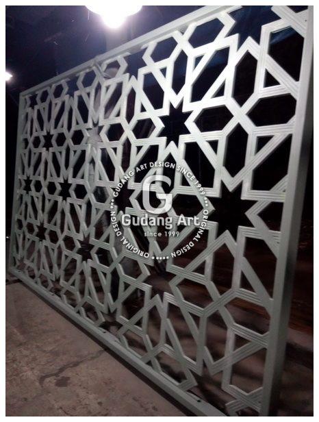 Pengerajin Ornamen Islami Masjid Aluminium Termurah