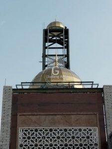 Pengerajin Ornamen Masjid Pagar Aluminium Cor Yang Menarik Dan Berseni