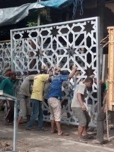 Produsen Pagar Masjid Cor Aluminium Jogja