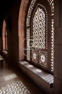 Teralis Jendela Masjid Berseni Dan Religius Yang Memiliki Nilai Islami