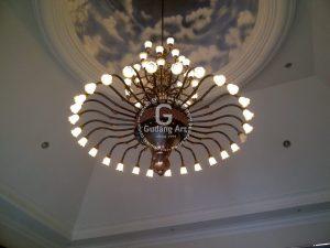 Gambar Model Lampu Gantung Masjid Yang Menarik