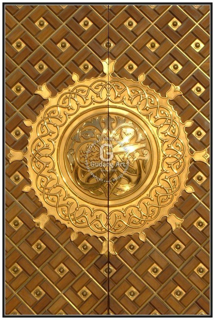 Mengaplikasikan Pintu Masjid Nabawi Kuningan Terbaik Di Indonesia