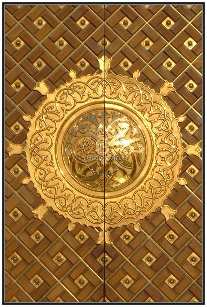 Model Pintu Masjid Nabawi Lengkap Tampilan Menarik