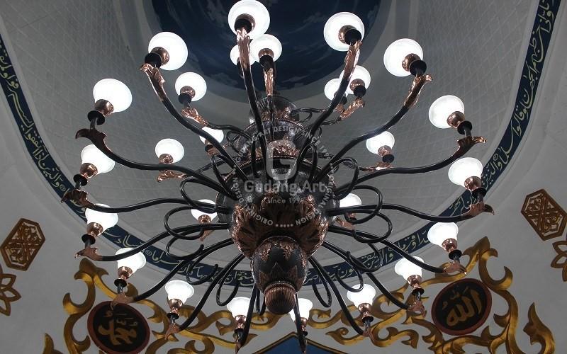 Penyedia Harga Lampu Gantung Kubah Masjid Murah Dan Berkualitas