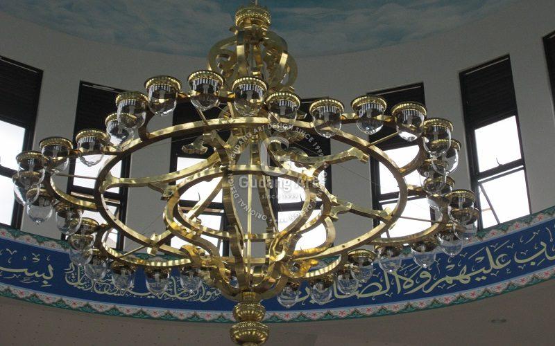 Tersedia Harga Lampu Gantung Kubah Masjid Murah Kualitas Paling Terbaik