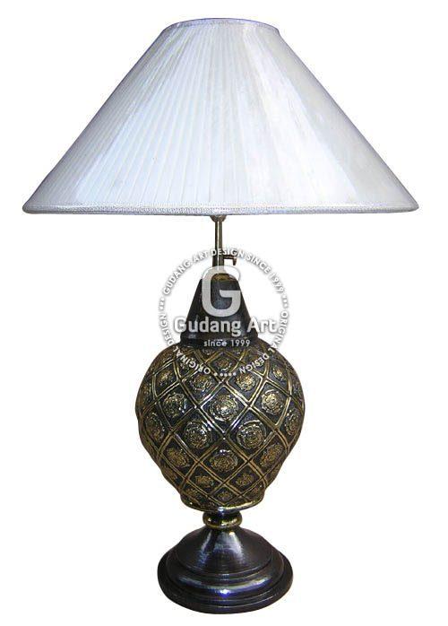 Lampu Meja Tembaga Kuningan7