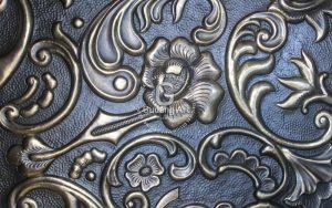kerajinan relief tembaga kuningan