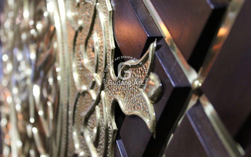 kerajinan replika pintu masjid nabawi